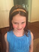 Wearing our Hardin House headband!